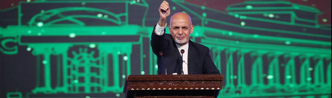افتتاح قصر دارلامان؛ غنی: هر قدر فقیر شویم، هویت فروش نیستیم و تسلیم نمیشویم!