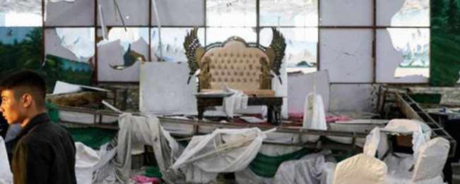 این بار مراسم عروسی کابلیان را به خون کشیدند! عروس و داماد بدون ۱۴ عضو خانواده زنده اند. اما پایان این ماجرا کجاست؟