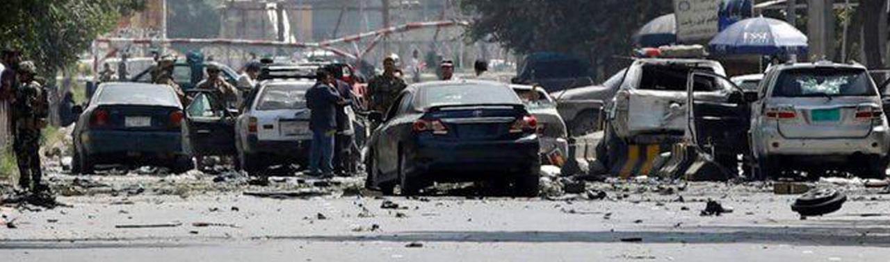 واکنشها به انفجار امروز کابل؛ غنی: صلح با طالبان دشوار خواهد بود!