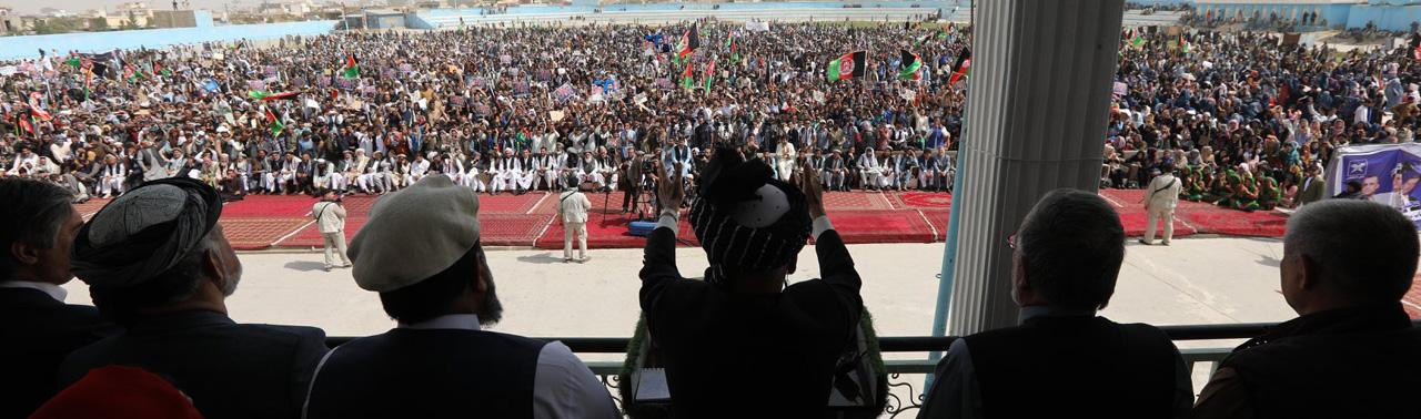 وعدههای اقتصادی غنی در بلخ؛ بندر حیرتان بزرگترین بندر صادراتی افغانستان خواهد شد