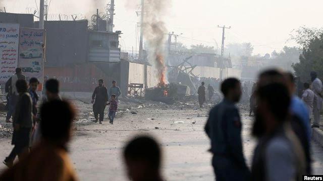 این دومین حمله انتحاری بر کمپ گرین ولیج در حوزه نهم شهر کابل در یک سال گذشته است