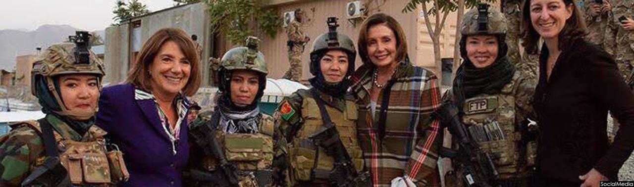 چرایی سفرغیر مترقبه رئیس کنگره امریکا به افغانستان