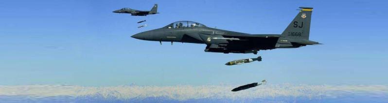 آمریکا رکورد ۱۰ ساله پرتاب بمب در افغانستان را شکست