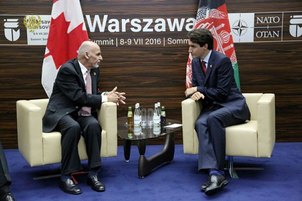 ghani and justin trudeau