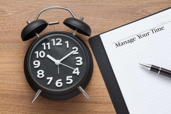 برای کارهایی که قرار است به انجام برسانید، محدودیت زمانی تعیین کنید.