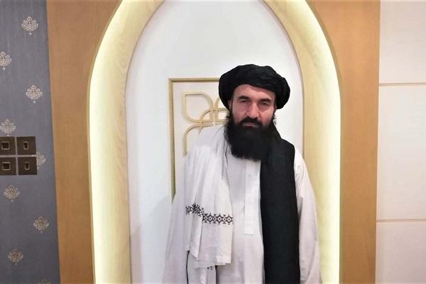 در 20 اپرل، خیرالله خیرخواه، یک مقام ارشد طالبان در دوحه قطر.