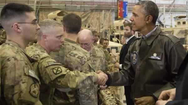 «باراک اوبا» با شعار ختم جنگ امریکا در عراق و کاهش حضور نظامیان امریکا در افغانستان، روی کار آمد. او نیروهای نظامی امریکا را کاملا از عراق خارج کرد. استراتژی کشورش را در افغانستان، تغییر داد
