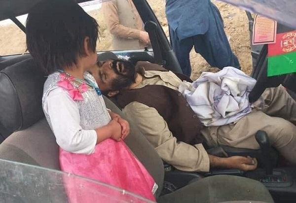 روزی که امان الله با دخترش مدینه، به سوی بازار در حرکت بود، در موترش ترور شد.