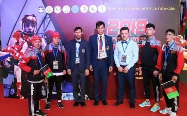 رقابتهای قهرمانی موی تای آسیا با اشتراک 36 کشور آسیا و حدود 300 ورزشکار از تاریخ 16 الی 22 دسامبر سال جاری در شهر ابوظبی امارات متحده عربی برگزار شده بود که از افغانستان 7 ورزشکار، یک مربی و 2 داور نیز در این رقابت ها حضور داشتند