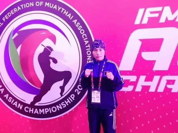 شکریه بهمنی در مسابقات آسیایی ابوظبی توانست به مدال طلا دست پیدا کند