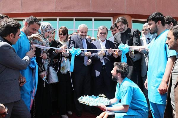 شفاخانه محمد علی جناح که در (31 حمل) سال جاری افتتاح شد.