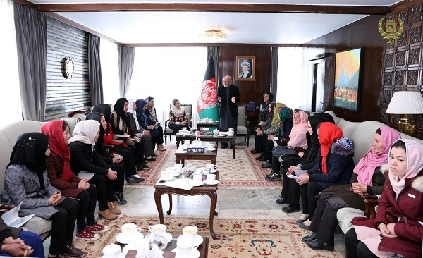 women and ghani