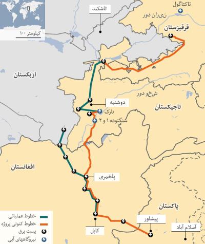 پروژه کاسا یکهزار از جملهی پروژههای مهم منطقهی است که از افغانسان میگذرد. مسیر عبور این پروژه در افغانستان از مزیتهای زیادی برخوردار خواهد بود