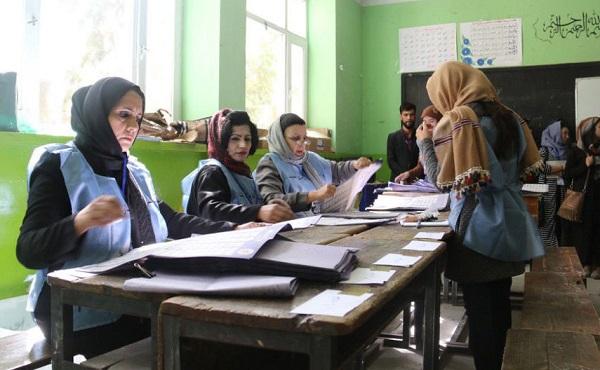 انتخابات ریاست جمهوری که قرار بود که به تاریخ ۳۱ حمل ۱۳۹۸ برگزار شود، با شش ماه تأخیر، در روز ششم میزان برگزار شد.
