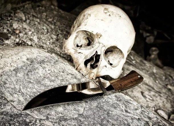 در سال ۱۹۸۸، یک مرد آمریکایی به نام مایکل هیل، از ضربهی چاقو که به سرش وارد شده بود جان سالم به در برد! چاقویی که به سر هیل وارد شده بود بیش از ۲۰ سانت طول داشت! او به حدی خوششانس بود که نه تنها زنده ماند بلکه مشهور هم شد.