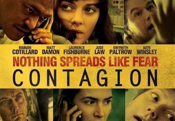 فیلم شیوع (Contagion) محصول سال 2011م، به کارگردانی استیون سودربرگ، شباهت خیلی زیادی با وضعیت کنونی شیوع ویروس کرونا با منشأ چین در جهان دارد.