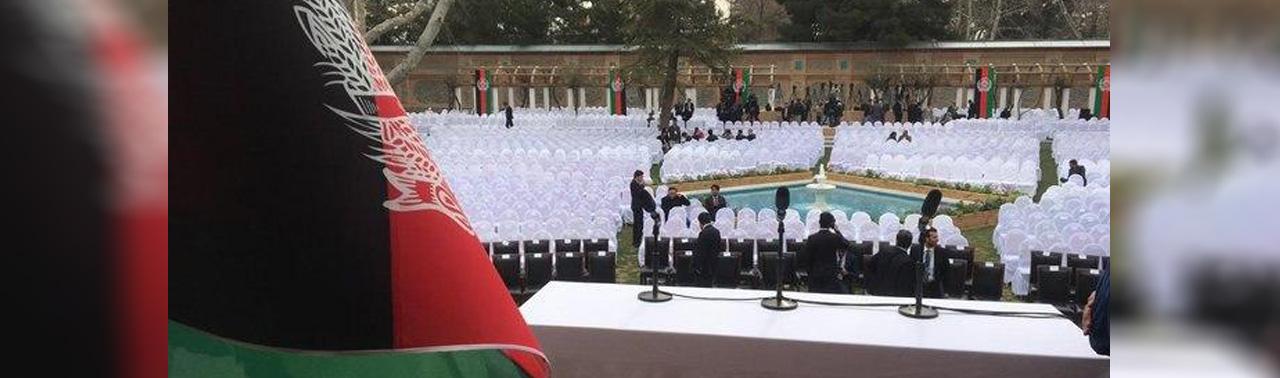 مراسمهای تحلیف خودمانی؛ در مراسم ارگ، نمایندگان جنبش تحفظ پشتونهای پاکستان شرکت میکنند