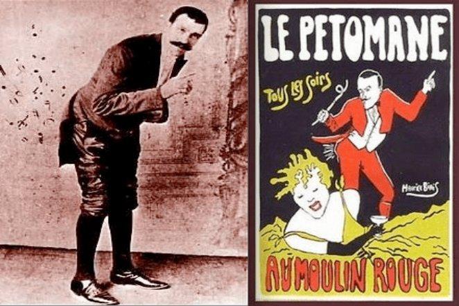 جوزف پاجول، معروف به لا پتُمن، هنرمندی فرانسوی بود که با باد معدهاش مردم را سرگرم میکرد.