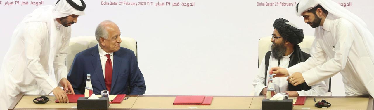 یک سالگی توافقنامه دوحه؛ از انتقاد حکومت تا هشدار طالبان