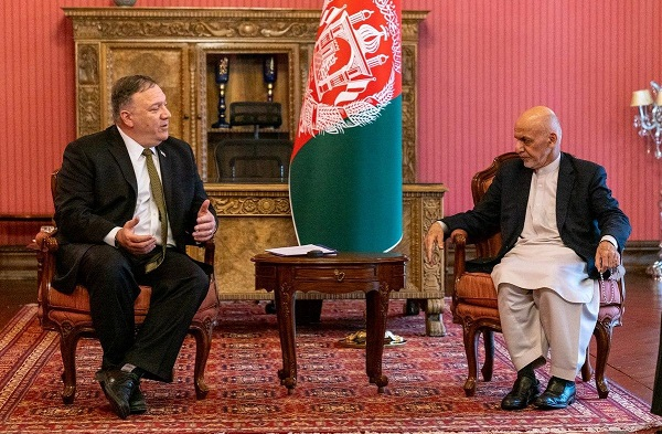 pompeo with ghani