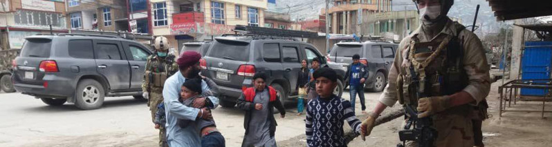 تداوم کشتار هدفمند اقلیتها؛ حمله خونین انتحاری بر درمسال سیکها در همسایگی ریاست جمهوری