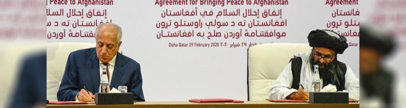 توافق نامه شرم آور ترامپ با طالبان