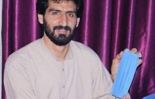 نیکوکاری در زمانه کرونایی(۲)؛ امان الله کلیوال، ۸ روز تلاش شبانه روزی و توزیع ۵ هزار ماسک رایگان در کابل