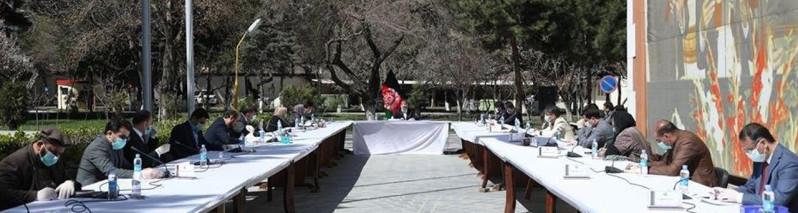 تدابیر سختگیرانهتر؛ ۸ نکته از ششمین جلسه کمیته اضطرار جلوگیری از شیوع ویروس کرونا در افغانستان