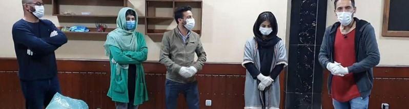 نیکوکاری در زمانه کرونایی (۱۰)؛ «کابل فنز» از آشپزی برای نیازمندان تا توزیع ماسک و دستکش