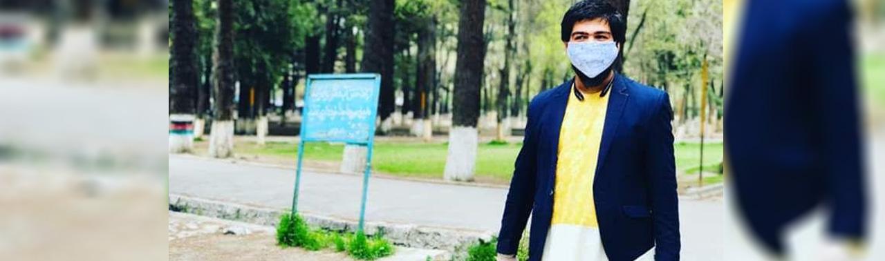نیکوکاری در زمانه کرونایی(۴)؛ امید عظیمبیگ، خلاقیت در یاری شهروندان کابل در جریان قرنطینه