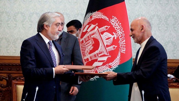 abdullah with ghani