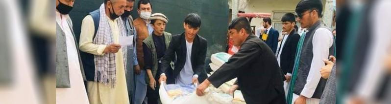 نیکوکاری در زمانه کرونایی (۱۵)؛ مینا نیکزاد و میرویس فیروزی، اهدای مخارج مراسم عروسی برای نیازمندان کابلی