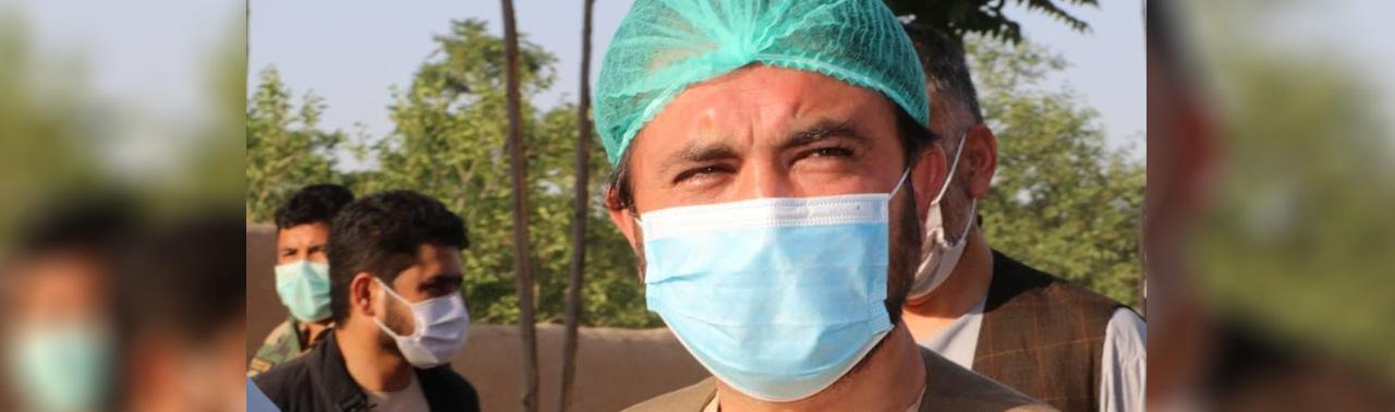 ویروس کرونا در فاریاب؛ نقیبالله فایق والی این ولایت فاریاب به این ویروس مبتلا شده است
