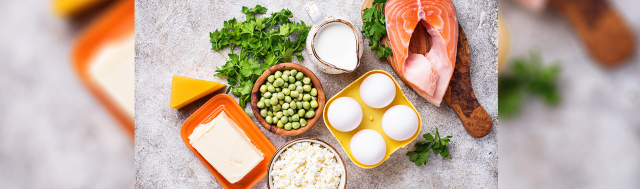 ۷ مواد خوراکی حاوی ویتامین دی