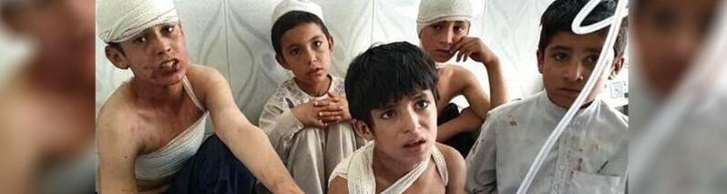برای پنجمین سال متوالی؛ افغانستان خونین ترین کشور برای کودکان است
