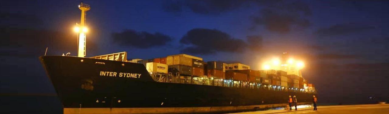ارسال سومین کشتی محموله صادراتی افغانستان از بندر چابهار به هند