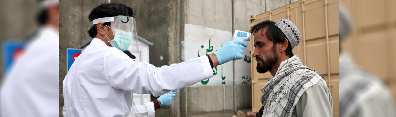 ثبت ۱۷ مورد تازه؛ امریکا صد پایه دستگاه ونتیلاتور به افغانستان سپرد