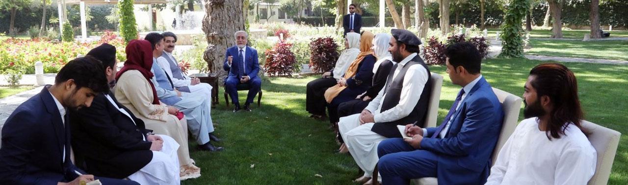 عبدالله به طالبان؛ دست از بهانه جویی بردارید!