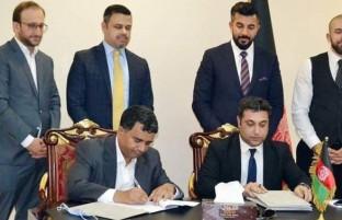 تفاهم نامه تولید برق آفتابی میان افغانستان و امارات امضا شد