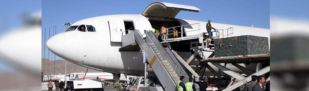 افزایش ۲۹ درصدی صادرات افغانستان از طریق دهلیز هوایی