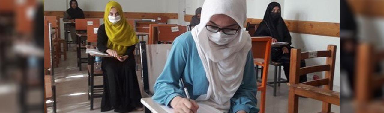 ۱۸۰ دانش آموز دختر در ولایت بدخشان از امتحان کانکور بازماندند