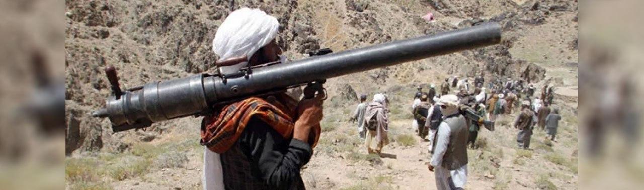 حملات موشکی طالبان بر پایگاه نیروهای آمریکایی در هلمند