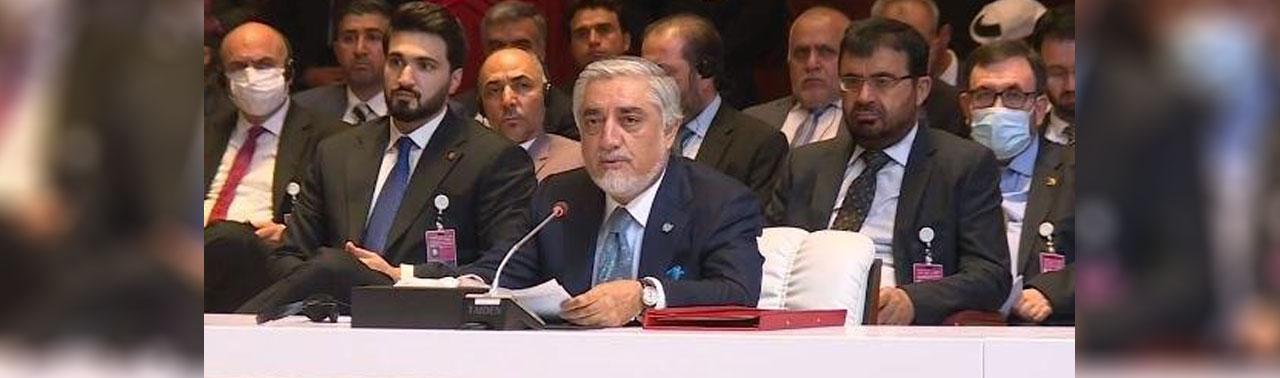 عبدالله در دوحه: آینده جدید مورد قبول همه افغان ها رقم زده شود/ خواهان آتش بس بشردوستانه هستیم