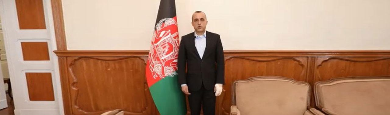 رد مسوولیت انفجار بر کاروان حامل صالح از سوی طالبان؛ شماری از محافظین صالح زخمی شدند