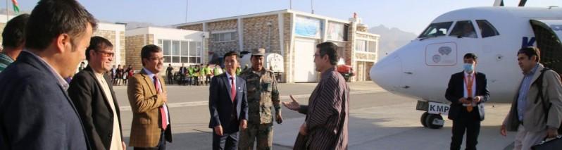 هشت سال پس از افتتاح؛ پس از تعیین جای کار روی ساخت میدان هوایی بین المللی بامیان آغاز می شود