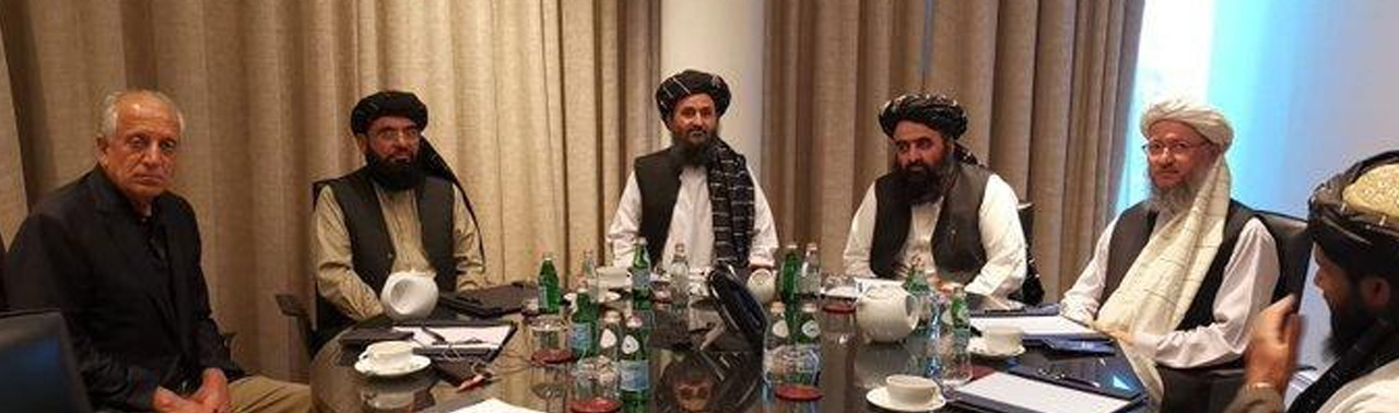دیدار سه جانبه خلیلزاد، وزیر خارجه قطر و نمایندگان طالبان در دوحه
