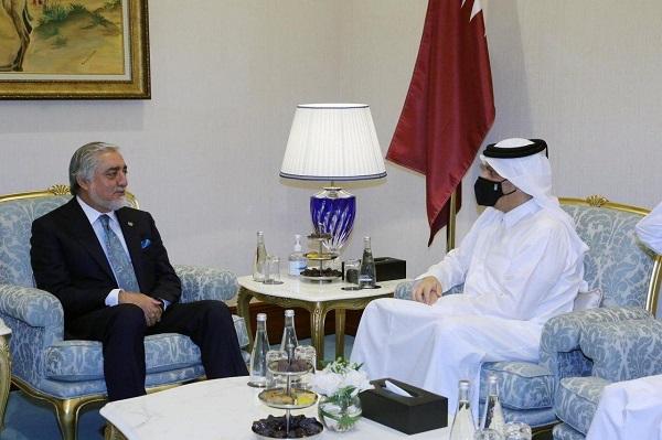 شورای عالی مصالحه ملی اعلام کرده است که عبدالله عبدالله رییس این شورا در حاشیه مذاکرات بین الافغانی در شهر دوحه با وزیران خارجه امریکا و قطر دیدار کرده است.