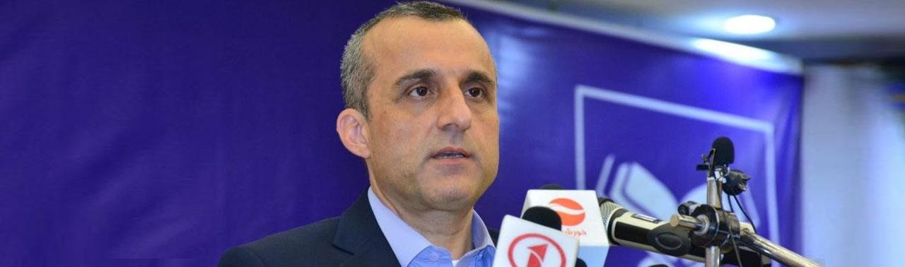 صالح: دولت و طالبان به یکدیگر تسلیم نمیشوند