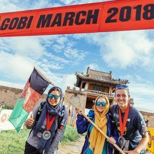 زینب رضایی از مسابقات گوبی توانست مدال کسب کند و چهارمین افغانی شد که برای افغانستان در این عرصه دستاورد داشته است.