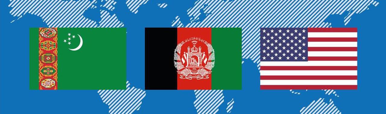 نشست سهجانبه افغانستان، ترکمنستان و آمریکا؛ ۳ کشور بر حفظ دستاوردهای ۱۹ سال کابل در روند صلح تاکید کردند